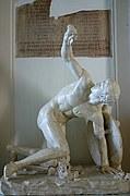 Foto de Roma, Museos Capitolinos, Italia - Discobolo guerrero - Palazzo Nuovo