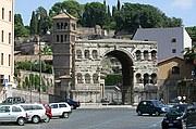 Arco degli Argentari, Roma, Italia