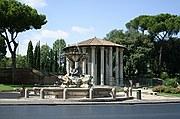 Piazza della Bocca della Verita, Roma, Italia