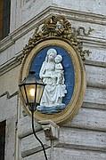 Piazza Colonna, Roma, Italia