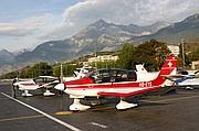 Aeropuerto de Sion, Sion, Suiza