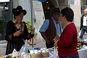 Mercado de los viernes, Sion, Suiza