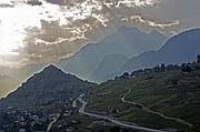 Viñedos Bisse de Clavau, Sion, Suiza