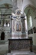 Foto de Sion, Basilica de Valere, Suiza - Pintura de María Magdalena