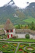 Castillo de Gruyere, Gruyere, Suiza
