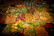 Foto de Funchal, Mercado de Labradores, Portugal - Puesto de frutas