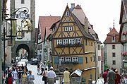 Foto de Rotemburgo, Alemania - Calle famosa