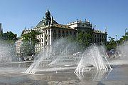 Foto de Munich, Alemania - Fuente pública