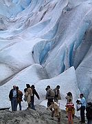 Camera Canon PowerShot G1 Glaciar Briksdal North Cap Cruise BRIKSDAL GLACIER Photo: 1527