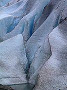 Camara Canon PowerShot G1 Glaciar Briksdal Crucero a Cabo Norte GLACIAR DE BRIKSDAL Foto: 1529