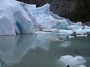 Camera Canon PowerShot G1 Glaciar Briksdal North Cap Cruise BRIKSDAL GLACIER Photo: 1530