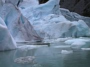 Camera Canon PowerShot G1 Glaciar Briksdal North Cap Cruise BRIKSDAL GLACIER Photo: 1531