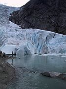 Camera Canon PowerShot G1 Glaciar Briksdal North Cap Cruise BRIKSDAL GLACIER Photo: 1533