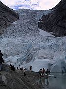 Camera Canon PowerShot G1 Glaciar Briksdal North Cap Cruise BRIKSDAL GLACIER Photo: 1534