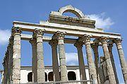 Templo de Diana, Mérida, España