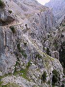 Desfiladero del Cares, Desfiladero del Cares, España