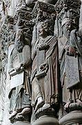 Portico de la Gloria, Santiago de Compostela, España