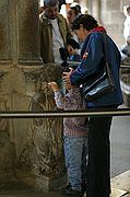 Pórtico de la Gloria, Santiago de Compostela, España
