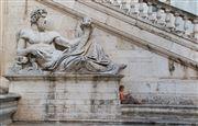 Plaza del Campidoglio, Roma, Italia
