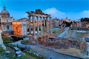 Photo of Rome, Foro de Roma, Italy - Foro romano al atardecer