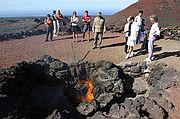 Parque Nacional Timanfaya, Lanzarote, España