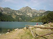 Lago San Mauricio, Lago San Mauricio, España