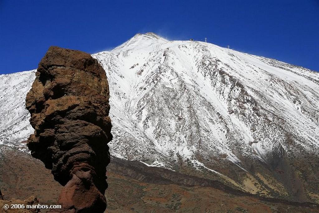 Tenerife El Teide nevado Canarias