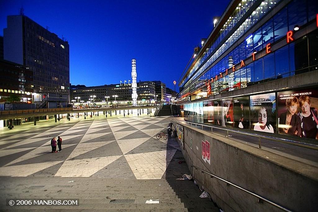 Estocolmo Obelisco de cristal de Orrefors Estocolmo