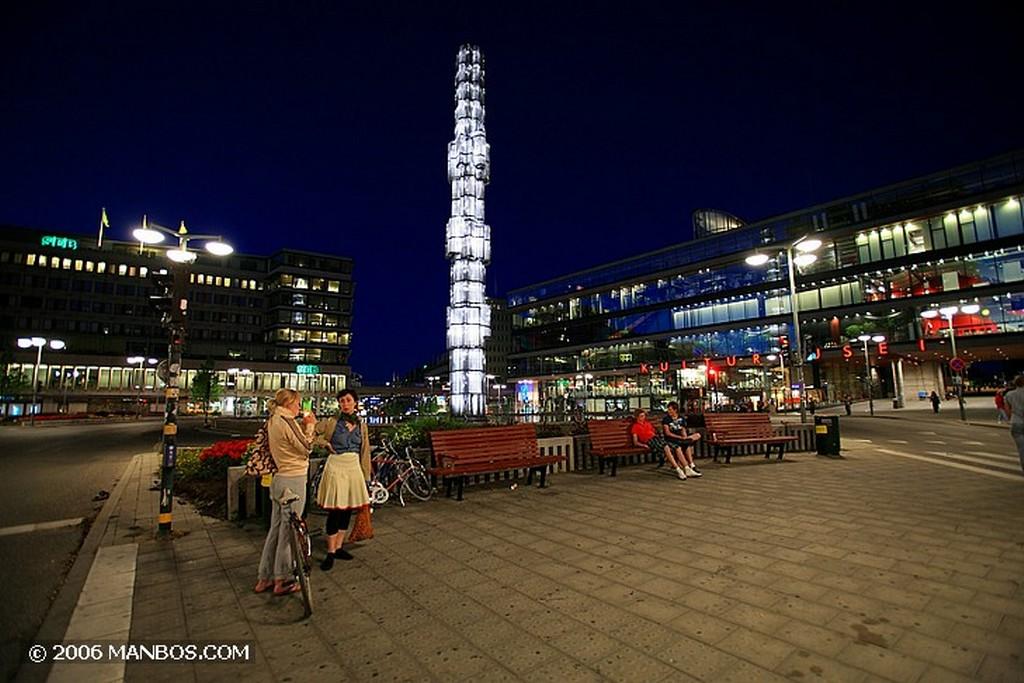 Estocolmo Estatua de niña Estocolmo