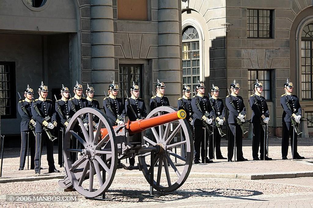Estocolmo Cambio de guardia Estocolmo