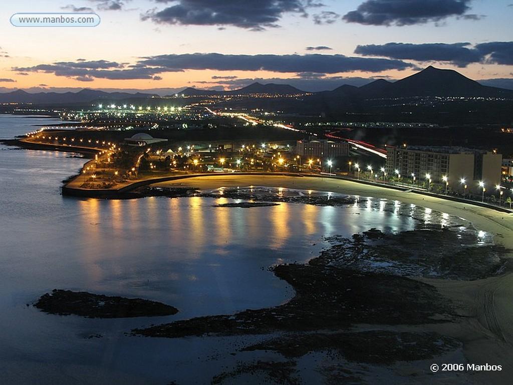 Lanzarote Puesta de Sol en Lanzarote Canarias