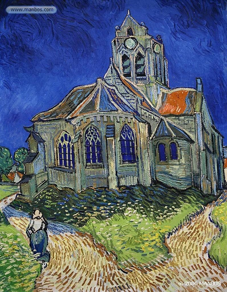 Paris La chambre de Van Gogh a Arles -  Vincent Van Gogh - 1889 Paris