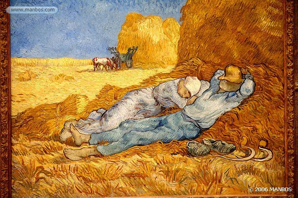 Paris Autorretrato de Vincent van Gogh - 1887 Paris