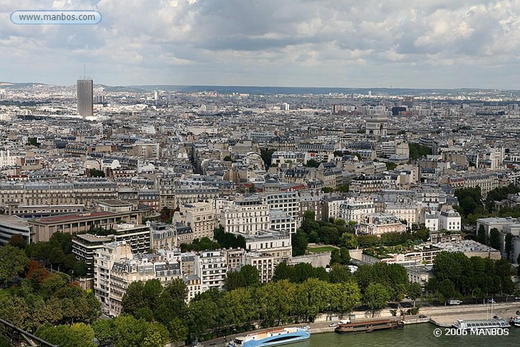 Paris Vistas desde la Torre Eiffel Paris