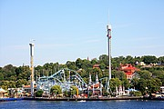 Parque de Atracciones, Estocolmo, Suecia