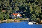 Residencias en las islas, Estocolmo, Suecia
