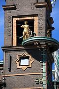 Plaza del Ayuntamiento, Copenhague, Dinamarca