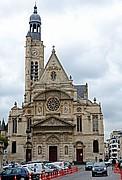 Eglise Saint-Etienne-Du-Mont, Paris, Francia