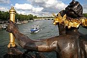 Puente de Alejandro III, Paris, Francia
