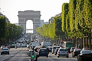 Champs Elysees, Paris, Francia
