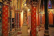 La Sainte Chapelle, Paris, Francia