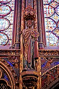 La Sainte Chapelle, Paris, Francia
