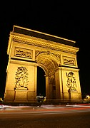 Arco del Triunfo, Paris, Francia