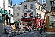Place du Tertre, Paris, Francia