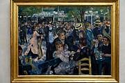 Foto de Paris, Museo de Orsay, Francia - Bal du Moulin de la Galette -  Pierre Auguste Renoir - 1876