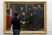 Foto de Paris, Museo de Orsay, Francia - Un atelier aux Batignolles -  Henri Fantin-Latour - 1870