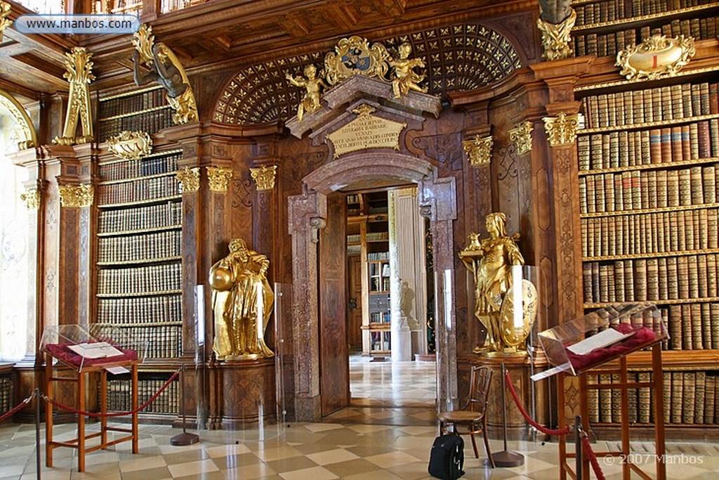 Melk Biblioteca de la Abadia de Melk Melk