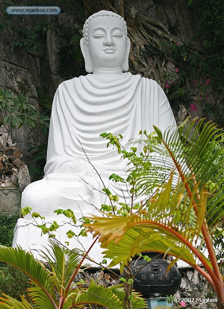 Montaña de Marmol Pagoda de siete pisos Da Nang