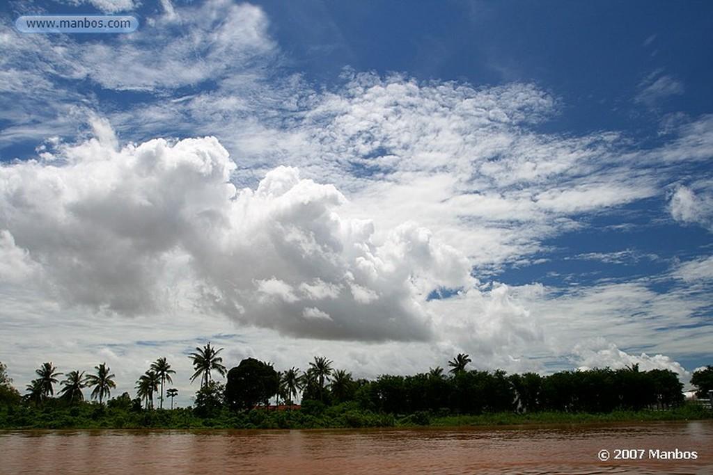 Rio Mekong En ruta a Camboya Rio Mekong