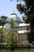 Palacio de Cristal, Madrid, España